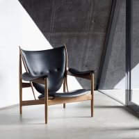 Chieftain Chair Black Leather Ordrupgaard 2012-min