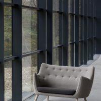 Poet Sofa Couch Grey Fabric Ordrupgaard 2012 (2)-min