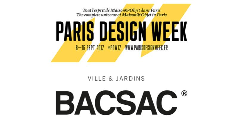 bacsac paris design week septiembre 2017 maximina. Black Bedroom Furniture Sets. Home Design Ideas